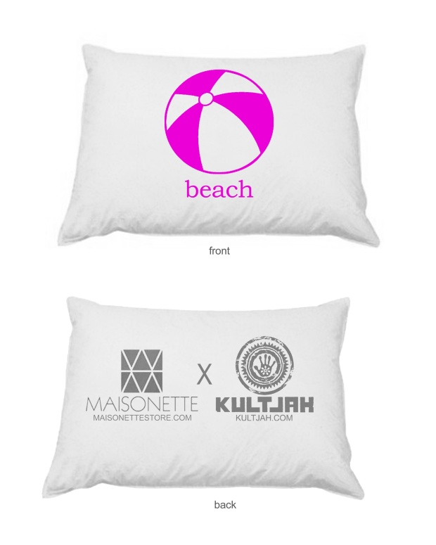 Beach Pillow