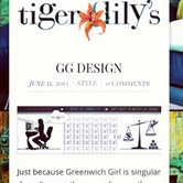 Tiger LIly's Feature: Greenwich Girl